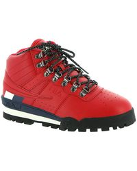Fila S Fitness Hiker MID Boot,Red/Navy/White,7 - Rouge