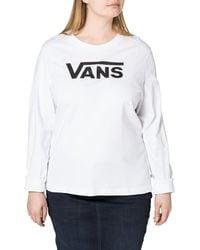Vans Flying V Classic Long Sleeve T-shirt - Black