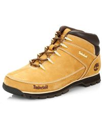 Timberland Euro Sprint Hiker Chukka Boots - Yellow