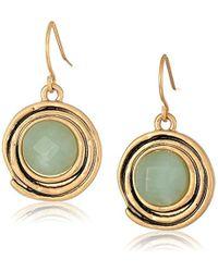The Sak - Color Orbit Amazonite Drop Earrings - Lyst