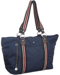 Tommy Hilfiger Lindsey Small Hobo Core Navy Bw56915699 - Blue