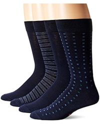 Dockers - 4 Pack Patterned Dress Socks - Lyst