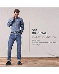 Levi's - 501 Original Shrink-to-fit Jeans - Lyst