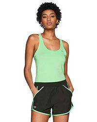 Under Armour Fly by Short - Pantalón Corto Mujer - Verde