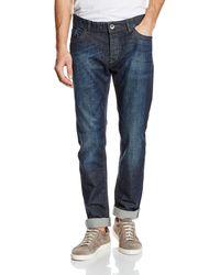 Benetton Fit Skinny Jeans - Blue