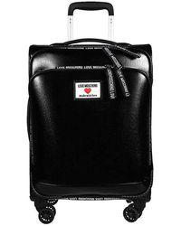 Love Moschino Hand Travel Bag Trolley Jc5100 Pu Black Synthetic