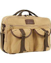 Tommy Bahama Briefcase Messenger Travel Bag - Brown