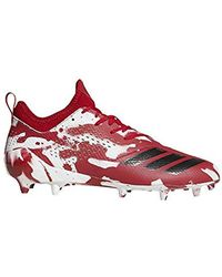 adidas Adizero 5-star 7.0 Football Shoe - Red