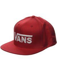 Vans Drop V II Snapback Gorra de béisbol - Rojo