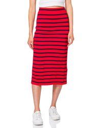 GANT D1. Breton Stripe Jersey Skirt - Blue
