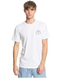 Quiksilver Blind Alley Tee - White