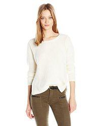 Joie - Fahd Moto Sweater - Lyst