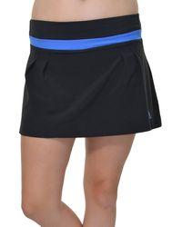 adidas Climalite Pleated Aline Athletic Skort - Black