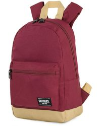 Skechers Casual Backpack. . Inner Pocket For Ipad/tablet. Perfect For Everyday Usage. Practical - Red