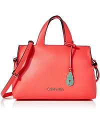 Calvin Klein - Neat Tote Md - Lyst