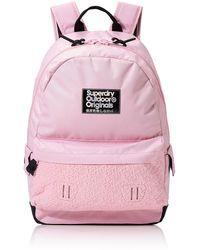 Superdry Neoprene Mirror Montana Backpack - Pink
