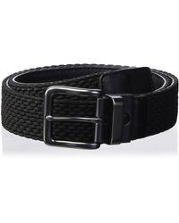 Nike Hybrid G-flex Woven Reversible Belt - Black