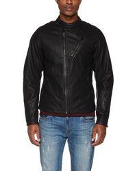 G-Star RAW Empral 3d Gpl Biker Jkt Jacket - Black