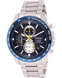 Seiko - Orologio Cronografo Quarzo Uomo con Cinturino in Acciaio Inox SSB259P1 - Lyst