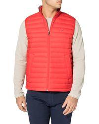 Tommy Hilfiger Packable Down Vest Longue - Bleu