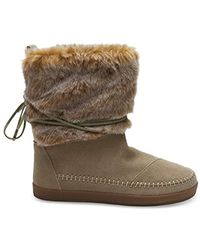 TOMS Nepal Snow Boot - Brown
