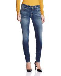Replay - Luz, Jeans Donna, Blu (Blue Denim), W26/L32 (Taglia Produttore: 26) - Lyst