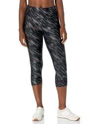Amazon Essentials Performance Capri Legging Pants - Noir