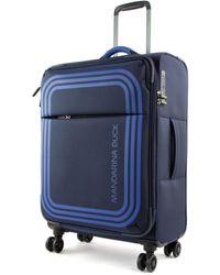 Mandarina Duck Trolley BILBAO spinner M VAV03 dress blue