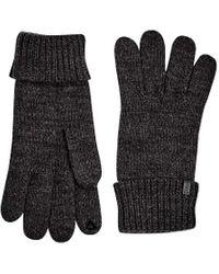 Esprit 109ea2r005 Gloves - Grey