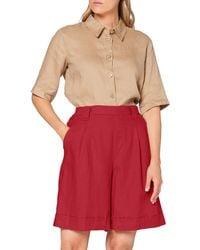 Benetton Bermuda Shorts - Red