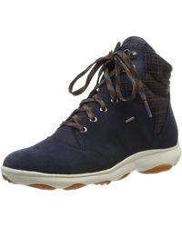 Geox D NEBULA 4 X 4 B ABX A Chukka Boots - Blau