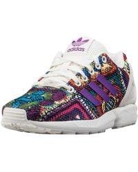 adidas Originals Shoes ZX Flux W Off White/Off White/Mid grapef07 16/17 38 2/3 Off White/Off White/Mid grapef07 - Multicolore