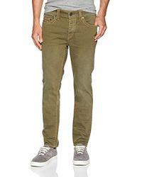 True Religion Rocco No Flap Big T Jeans Slim Uomo - Verde