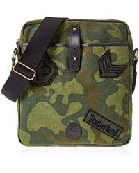 Timberland - Cross Body Bag, Unisex Adults' Top-handle Green (green Camo), 5x33x29 Cm (w X H L) - Lyst