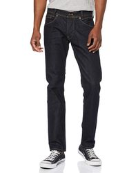 Pepe Jeans Spike, Vaqueros Straight para Hombre, Azul (Medium Used Denim Bb6) W30/L30