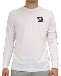 Nike T-Shirt Uomo CD9598 100 Bianco Bianco XL