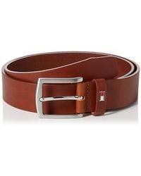 Tommy Hilfiger E3578A1208, Cinturón Para Hombre - Marrón