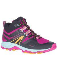 Merrell Mqm Flex 2 Mid Low Rise Hiking Boots - Purple