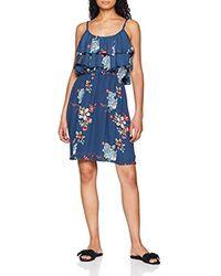 85994d8ac0c0 Flora Vestido para Mujer - Azul