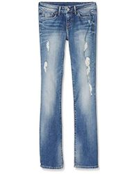 Pepe Jeans Piccadilly Pantalones Vaqueros Bootcut para Mujer - Azul