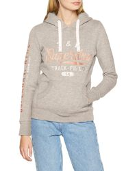 Superdry Track & Field Overhead suéter - Gris