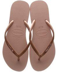 Havaianas Slim Velvet Flip-flop - Brown