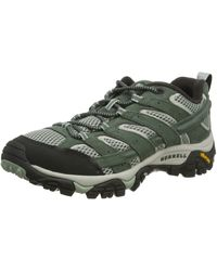 Merrell Moab 2 Vent Low Rise Hiking Boots - Green