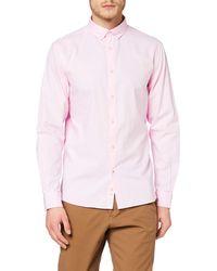 Celio* NAPINPOINT Camicia Casual - Rosa