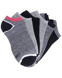 Tretorn 6-pack No Show Socks - Black