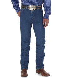 Wrangler George Strait Cowboy Cut Slim Fit Jean - Blue