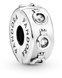 PANDORA Charm in argento Sterling - Metallizzato