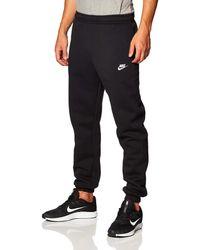 Nike M Nsw Club Trousers Cf Bb - Black