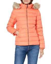 Tommy Hilfiger TJW Essential Hooded DOWN Jacket Jacke - Mehrfarbig