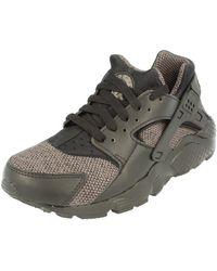 Nike Air Huarache Run Se Gs Running Trainers 909143 Trainers Shoes - Grey
